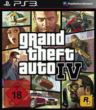 SONY PS3 GTA Grand Theft Auto 4 GTA IV Open World Liberty City Gangster OVP