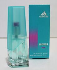 ADIDAS Moves HER Eau De Toilette 0.5oz/ 15ml Perfume Fragrance EDT NEW IN BOX