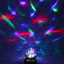 Night Light Rotating Kaleidoscope Prisma Projector Lamp Baby Room Sensory Autism