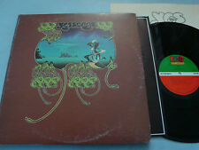 Yes Yessongs LP x 3 NM SD3-100 1973 w/insert PR AT/GP 1841 Broadway
