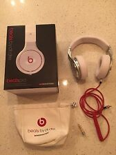 BEATS PRO BY DR DRE HEADPHONES MONSTER WHITE STUDIO QUALITY