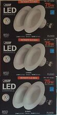 6 x Feit 5-6 inch LED Recessed Retrofit Kit  (3-2packs) 75w replacement-Dimmable
