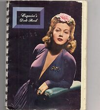 1944 Esquire Datebook* with Starlet Pinup Girls