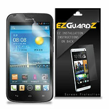 4X EZguardz LCD Screen Protector Cover HD 4X For Huawei Ascend Y600 (Clear)