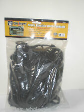 Automotive Truck Bed Stretch Cover Cargo Net Elastic Hooks Safety Lock Stretches