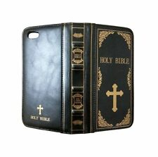 Apple Iphone 6 6S Protective Case PU Leather Holy Bible Book