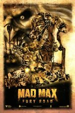 POSTER MAD MAX FURY ROAD CHARLIZE THERON TOM HARDY MEL GIBSON INTERCEPTOR #23