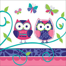 Owl Pal  Birthday Party Supplies Large Lunch Napkins
