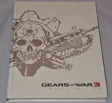 Gears of War 3 Collectable (Limited Edition) Game Guide (Hard Cover) Skorge ++