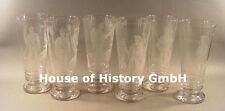 Patriotika: 8 Patriotische Gläser, Biergläser, Jäger, Infanterie, Pionier, Ulan