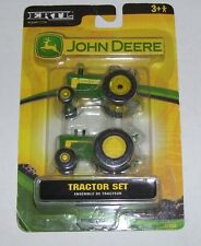 JOHN DEERE NOC ERTL TRACTOR SET 1/64 #35382 TOY 2006 RETIRED AGES 3+ YEARS