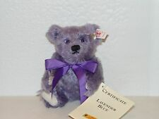 Steiff MINI LAVENDER BLUE Teddy Bear EAN 666049 MOHAIR 6.29 inches (16cm) - NEW