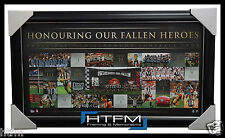 Collingwood Anzac Day AFL Limited Edition Print Framed Official Pendlebury
