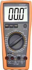 New!! Digital Multimeter VC9808+ Inductance Res Cap Freq Temp Resistance Tester