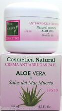 Pere Marve ALOE VERA + Dead Sea Salt 24 H ANTI WRINKLES CREMA 140 ML spf10 NUOVO