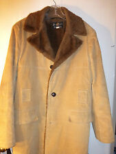 Vintage Storm Shield by Northland Lined Corduroy Jacket Tan w/ dark brown lining