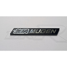 ALU black silver Mugen grill spoiler badge emblem FN2 FN EP3 EP JDM civic accord
