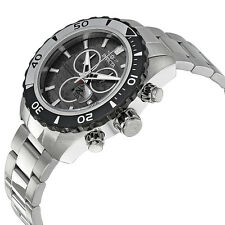 New Mens Invicta 14341 Pro Diver Chronograph Steel Bracelet Watch