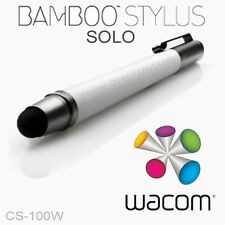 WACOM Bamboo Solo Tablet Smartphone Touch Screen Stylus Pen WHITE CS-100W