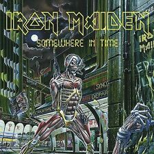 Iron Maiden - Somewhere in Time [Remastered] [Enhanced] (CD, 1998 Sanctuary)