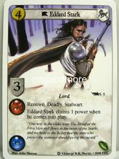 A Game of Thrones LCG - 1x Eddard Stark #S005 - Ice and Fire Draft Pack