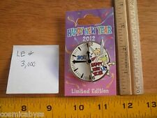 Happy New Year 2012 Tinkerbell clock spinner LE Disney Pin MOC