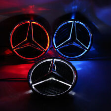 Sport 2013-2016 Car Led Grille BlLED Logo Emblem Light For Mercedes Benz