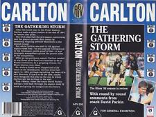 CARLTON THE GATHERING STORM VIDEO VHS PAL A RARE FIND
