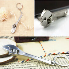 Innovative Key Accessories Cute Wrench Keychain Mini Gift Spanner Keyrings
