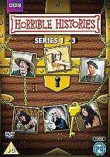 Horrible Histories: Complete Series 1-3 Box Set [DVD] New & Sealed