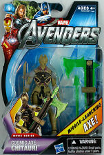 THE AVENGERS Movie Collection__Cosmic Axe CHITAURI figure_Movie Series_New & MIP