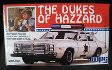 Roscoe's dodge monaco police car Dukes of Hazzard * KIT * MPC * 1:25 * NOUVEAU