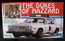 Roscoe 's DODGE MONACO Police car Dukes of Hazzard Kit * * MPC * 1:25 * NUOVO
