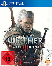 PS4 Spiel The Witcher 3: Wilde Jagd (Sony PlayStation 4, 2015) Top Game