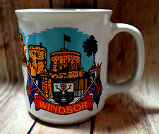 Windsor Castle Collectible Mug Cup Sights of Britian Sampson Souvenirs LTD 8oz