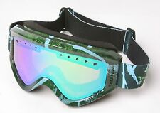 Burton Anon Majestic Youth Snowboarding Goggles (Green)