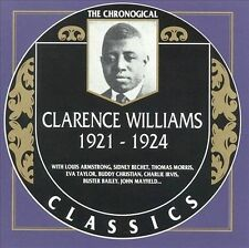 1921-1924 by Clarence Williams' Blue Five / Classics Records CD