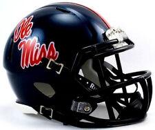 Mississippi Ole Miss Rebels Riddell NCAA College Football Team Speed Mini Helmet