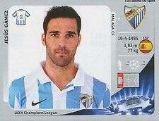 N°212 JESUS GAMEZ # ESPANA MALAGA.CF CHAMPIONS LEAGUE 2013 STICKER PANINI