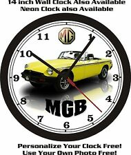 1980 MG MGB WALL CLOCK-FREE USA SHIP!
