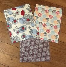Doodle Flower Front & Back Cover Set made for use with Erin Condren Life Planner