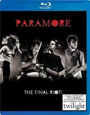 PARAMORE : THE FINAL RIOT -   Blu Ray - Sealed Region free