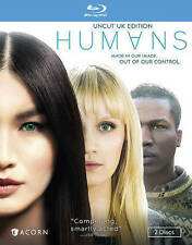 Humans, Season 1 [Blu-ray], New DVD, Emily Berrington, Ivanno Jeremiah, Will Tud