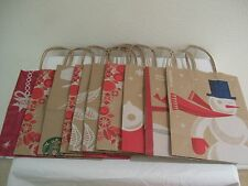 10 HOLIDAY XMAS DESIGN '09 '11 '12 '13 '15 Paper Bags STARBUCKS LUNCHsnackSCHOOL