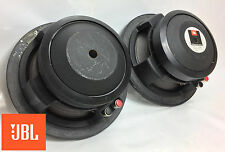 "JBL 2118H 8"" 8-ohm Midrange Speaker Pair, Tested Close DCR's 5.1 / 5.2 - 06184"