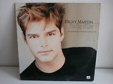 """MAXI 12"""" RICKY MARTIN The cup of live World cup football 98 665520 6"""
