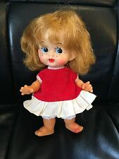 Vintage Girl DOLL With Freckles Made in Japan Janie Clothing
