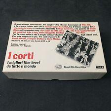 I CORTI Miglior Film Brevi Da Tutto Il Mondo LIBRO+VHS Einaudi Moretti Truffaut