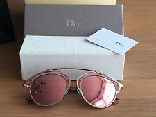 Dior So Real Sunglasses U8WZ6 ONDO774WSJ Copper Pink Mirror Lenses BEAUTIFUL!!