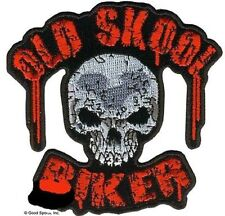 OLD SCHOOL BIKER  AWESOME  GREAT  HIGH QUALITY NEW LARGE BIKER PATCH LRG-0428